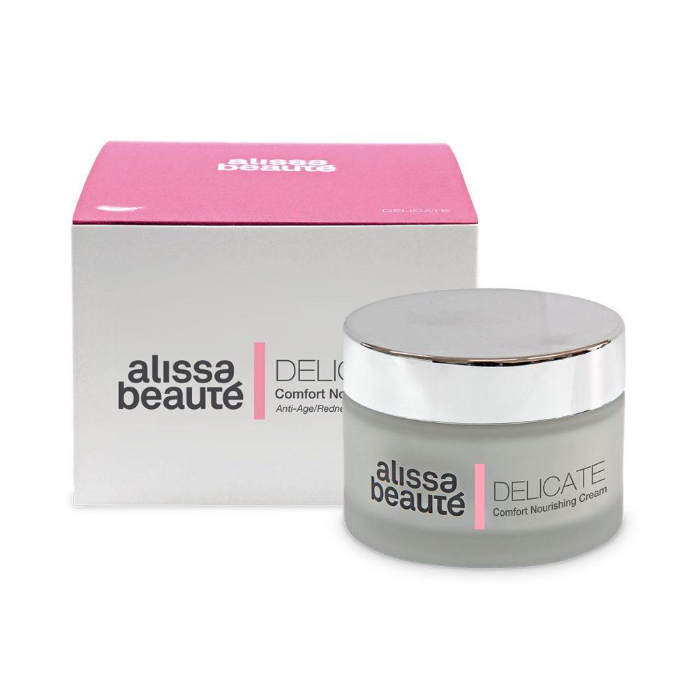 DELICATE – Comfort Nourishing Cream 50 ml | Анти – ейдж, срещу зачервяване
