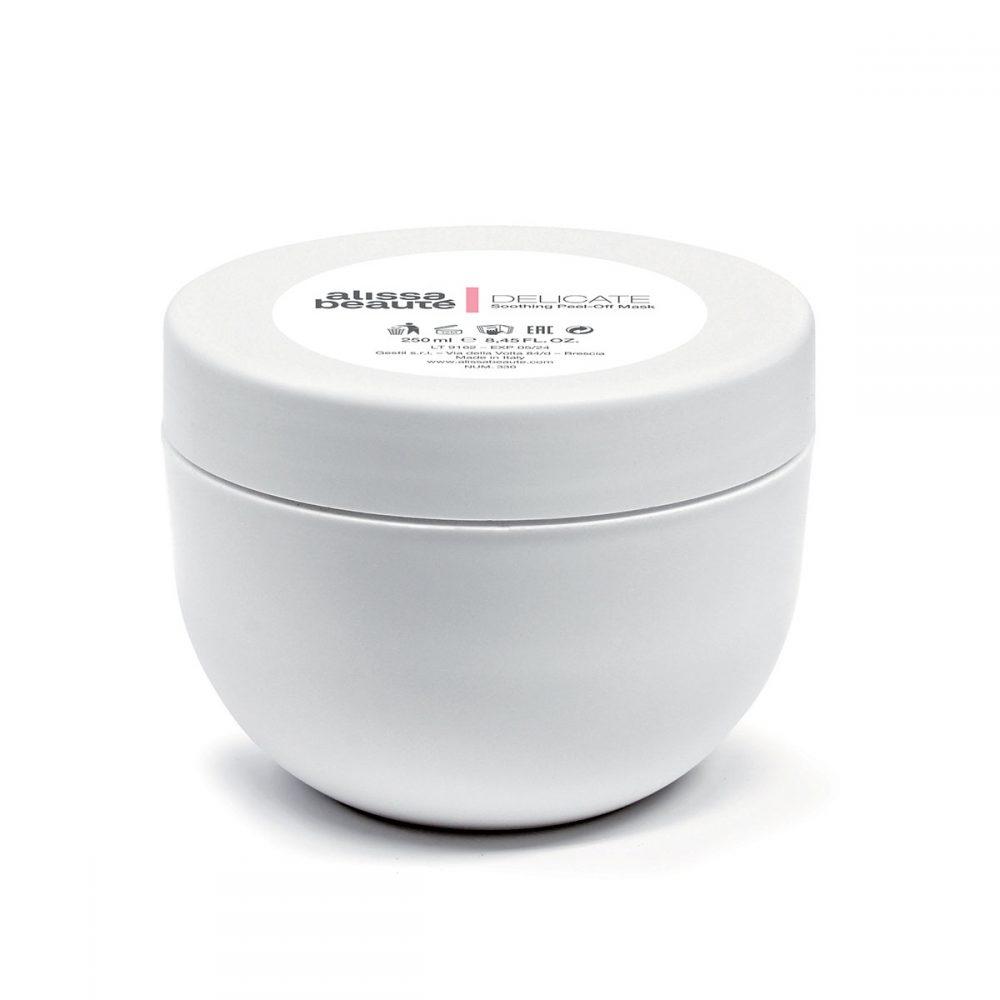 DELICATE – Soothing Peel-off Mask 250 ml | Решение срещу зачервяване, купероза